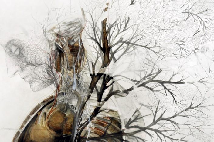 Nunzio Paci grafitove a olejove malby 6