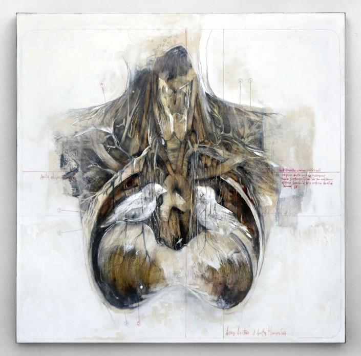 Nunzio Paci grafitove a olejove malby 8