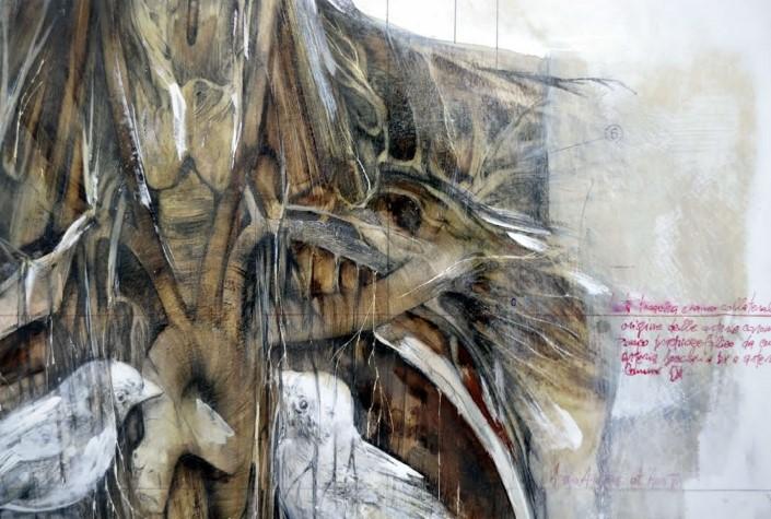 Nunzio Paci grafitove a olejove malby 9