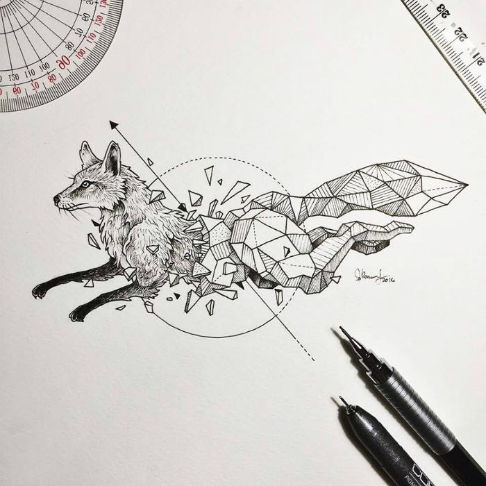 geometrickezvieratasuperilustracie2