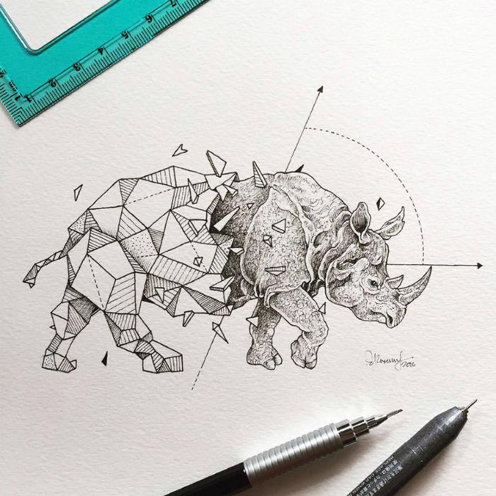 geometrickezvieratasuperilustracie5