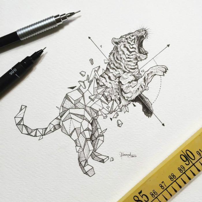 geometrickezvieratasuperilustracie7