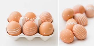 Ako ozdobiť veľkonočné vajíčka na poslednú chvíľu | DIY nápad