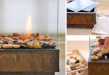 Štýlové ohnisko | Nápad a návod ako ho vyrobiť vlastnými rukami