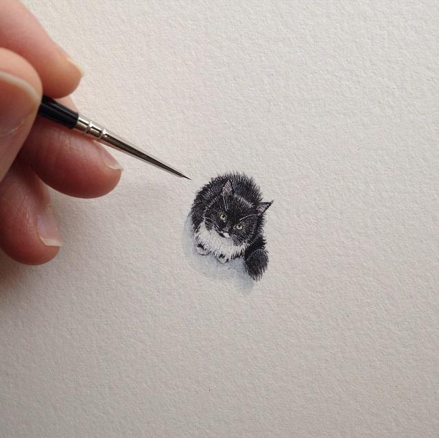 Brooke Rothshank miniaturne malby 1