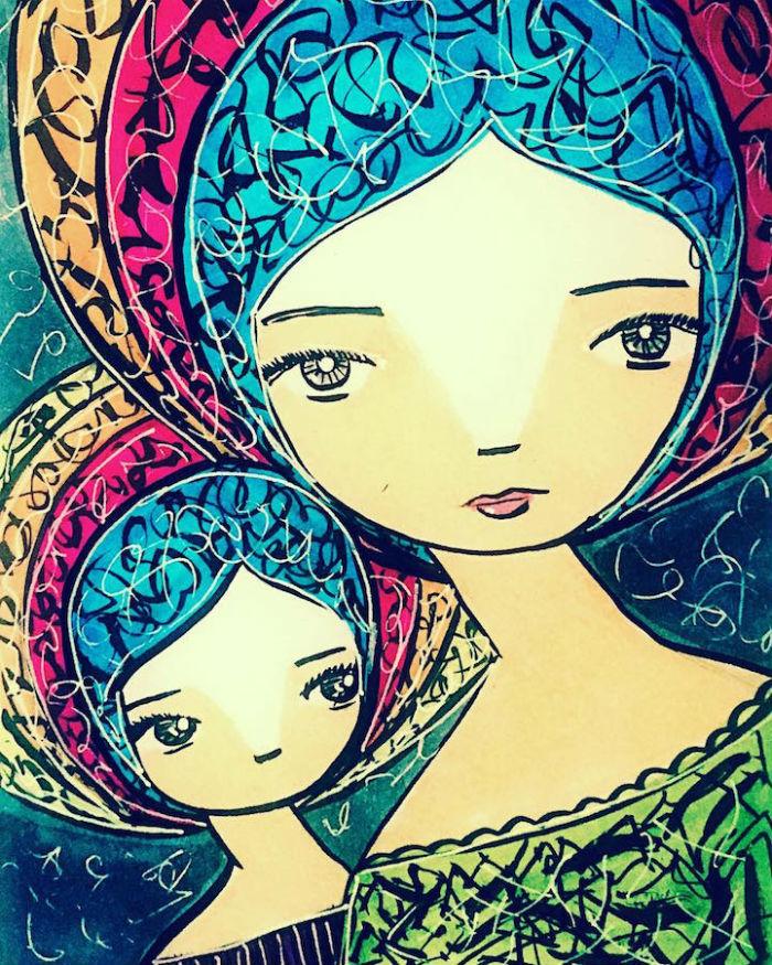 Pre mamiky nie s iadne dva dni rovnak kad prina nov vzvy a rozlin radosti Umelkya Sora Ceballos-Lo3