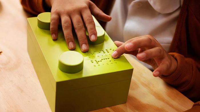 braillovo lego pre nevidiace deti 2