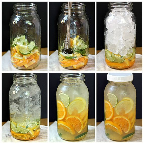 recepty na ochutene ovocne vody 1
