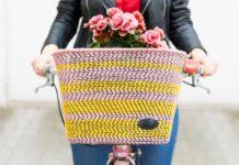 Návod ako premeniť obyčajný na štýlový košík na bicykel