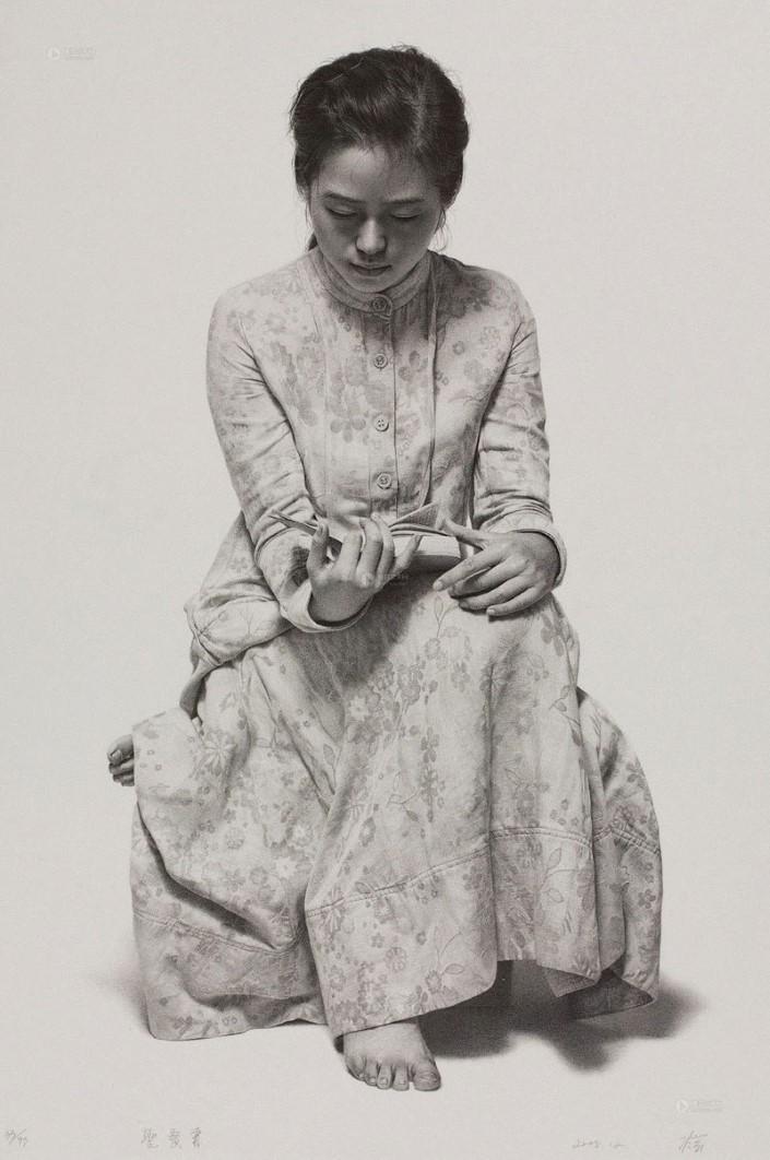 Leng Jun hyperrealisticke malby 10