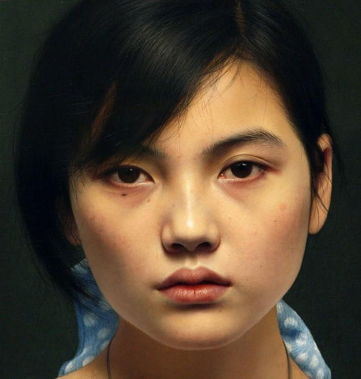 Leng Jun hyperrealisticke malby 7