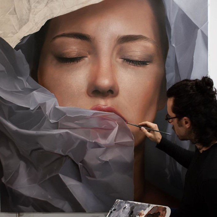 Mike Dargas fotorealisticke malby umenie 1