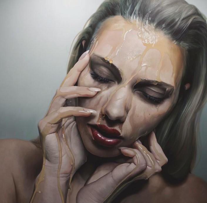 Mike Dargas fotorealisticke malby umenie 5