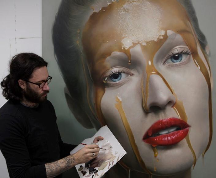 Mike Dargas fotorealisticke malby umenie 7