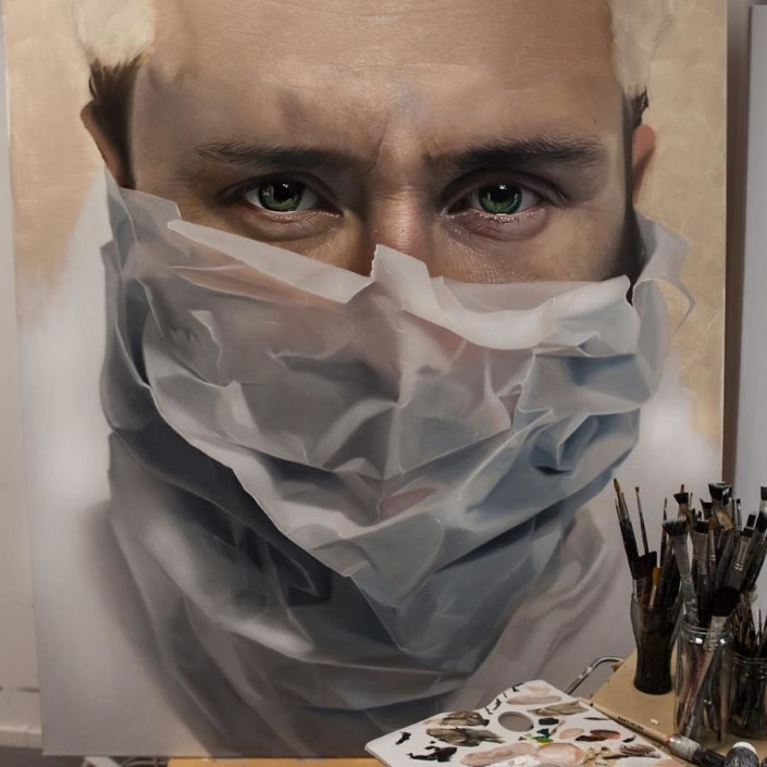Mike Dargas fotorealisticke malby umenie 9