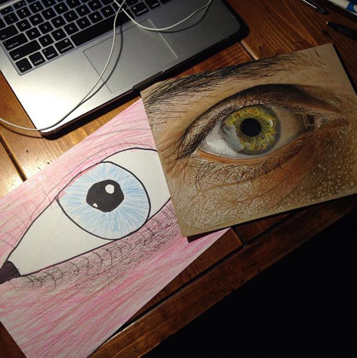 predtym a potom pokrok umelcov 1
