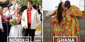 Tradičné svadobné šaty z rôznych kútov sveta   Outfity z 22 krajín