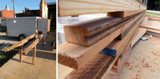 Stôl z odpadového dreva | Ako premeniť odpadové dosky na vkusný stôl