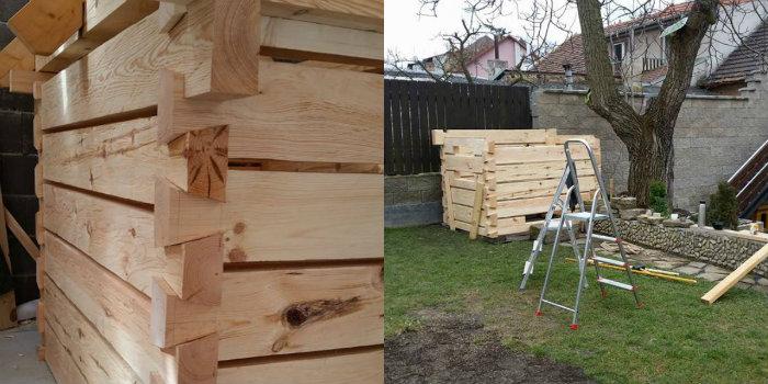 otec postavil na zahrade domcek pre syna podla vzoru tradicnych chalup2