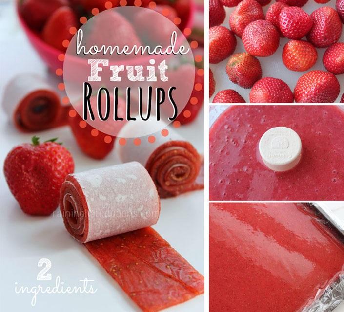 recept ovocne rolky