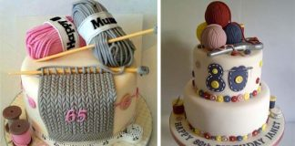 Torty oblečené do svetríkov | Inšpirácie na torty s pleteným motívom