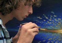 Thijme Termaat strávil 2,5 roka maľovaním a tvorbou časozberného videa