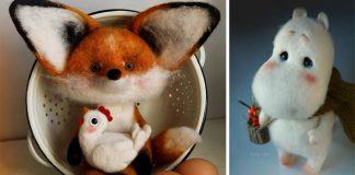 Roztomilé plstené zvieratká, ktoré by ste najradšej vyobjímali | Fetreno