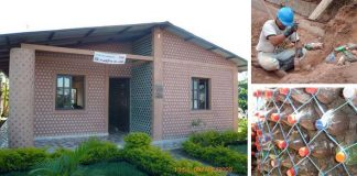 Dom z plastových fliaš | Ako postaviť dom z odpadových plastových fliaš