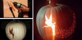 Zvonilka vyrezaná do tekvice | Kreatívny DIY nápad a návod na Halloween