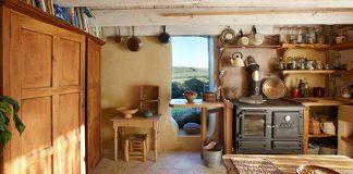 Kuchyne v prírodných domoch | Krásne, jednoduché a praktické!