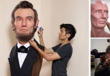 Hyperrealistické portrétové sochy zobrazujúce každý detail   Kazuhiro Tsuji
