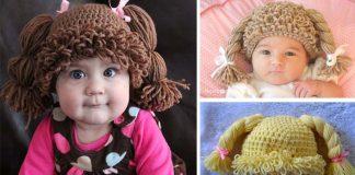 Háčkované čiapočky pre malé slečny | Handmade návody