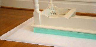 Premena stolíka na lavičku do predsiene | DIY nápad s návodom