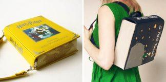 Handmade tašky inšpirované knihami spod rúk Krukru Studio