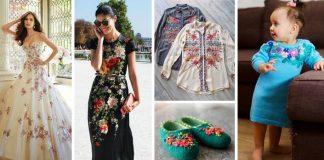 Výšivka v modernom oblečení. Presvedčte sa o jej variabilite!