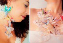 Motýlie šperky podčiarknu ženskú jemnosť a krehkosť | Derya Aksoy