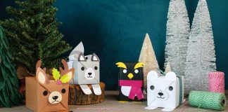Zvieracie obaly na darčeky pre deti | Originálne DIY nápady