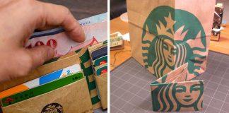 Peňaženka z papierovej tašky | Kreatívny nápad a návod ako postupovať