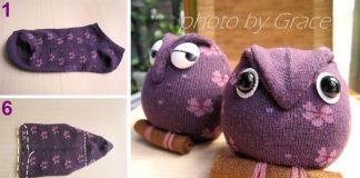 Ponožková sovička dokáže potešiť malých aj veľkých | DIY návod