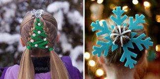 Kreatívne vianočné účesy | 20 najkrajších nápadov, ktorými zaujmete!
