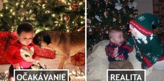Vianočné fotografie detí, ktoré rozhodne pobavia! | Očakávanie vs. realita