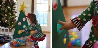 Detský vianočný stromček na rozoznávanie farieb | DIY nápad s návodom