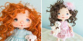 Ručne šité bábiky, ktoré vás prenesú do ich rozprávkového sveta! | Alla