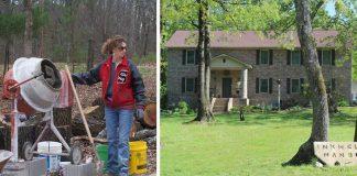 Slobodná mama Cara Brookins postavila so svojimi deťmi vysnívaný dom vďaka návodom na Youtube