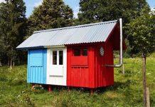 Pin-up domček France za tisícku za tri hodiny | Joshua Woodsman