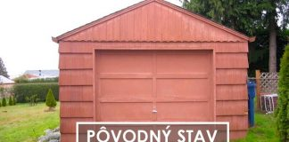 Prerábka starej garáže na útulný malý domček so skromnými 23m²