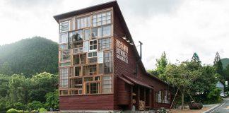 Domček Kamikatz postavený výhradne z odpadu | Hiroshi Nakamura & NAP