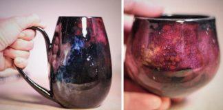 Keramika inšpirovaná vesmírom, hviezdami a ďalekými galaxiami