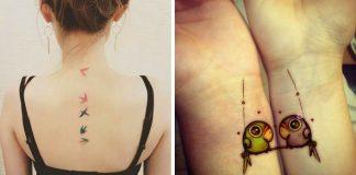 Tetovania s vtáčím motívom sú symbolom slobody a voľnosti. Pozrite si jedny z najkrajších!