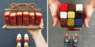 Tal Spiegel fotí najlepšie dezerty Paríža, ktoré ladia s jeho topánkami
